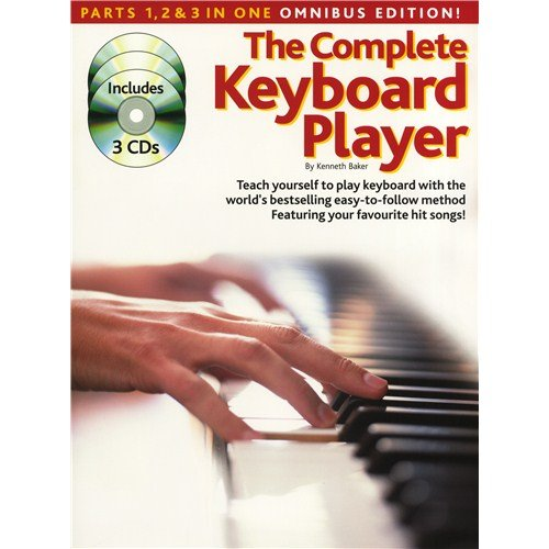 The Complete Keyboard Player: Omnibus Edition (Revised Edition). Partitions, CD pour Clavier