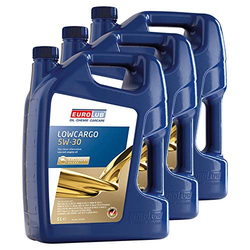 Eurolub 3X Motoröl 5W-30 Lowcargo Nutzfahrzeug Nfz Diesel Dieselmotor Motor Motoren Engine Oil 5L