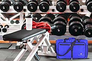 "Suvelle Lightweight 21"" Travel Foldable Duffel Bag For Luggage Gym Sports Water Resistant Nylon Duffle 8"