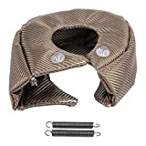 Turbo di copertura Turbocompressore Copertura scudo termico di barriera Turbo charger cover Wrap,Turbo Coperta Scudo Termico Barriera (T4)