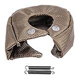 Turbo di copertura Turbocompressore Copertura scudo termico di barriera Turbo charger cover Wrap,Turbo Coperta Scudo Termico Barriera (T3)
