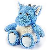 Warmies Cozy Plush Blue Dragon - Microwavable / Heatable Plush Toy by Intelex