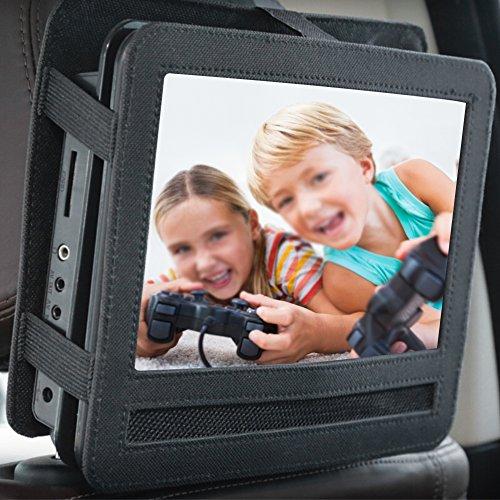 Zoll 10 Player Auto Kopfstütze Dvd (Auto Kopfstütze Halterung, 7/9/10 Zoll Auto iPad Tablet Hülle von Zaote für Tablets, tragbare DVD Player)