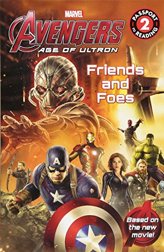 Marvel's Avengers: Age of Ultron: Friends and Foes (Passport to Reading Level 2) por Marvel