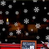 Aomon 110 Fensterdeko Schneeflocken Weihnacht...Vergleich