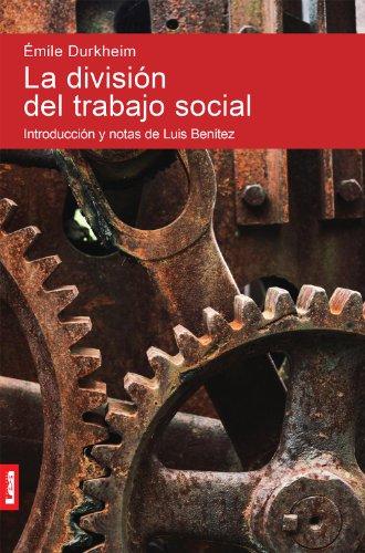 La división del trabajo social por Émile Durkheim
