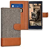 kwmobile Hülle für Sony Xperia X Compact - Wallet Case