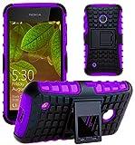 GizzmoHeaven Lumia 530 Hülle Stoßfest Handy Schutzhülle