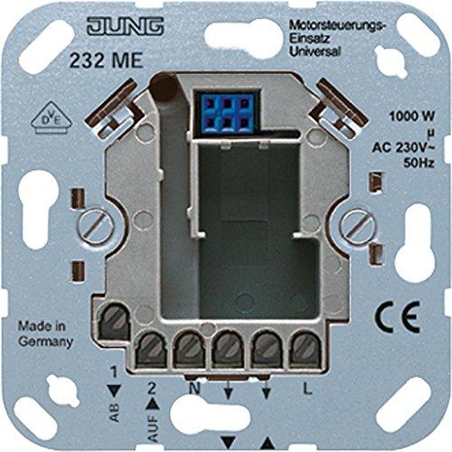 Preisvergleich Produktbild Jung 232 ME Motorsteuerungs-Einsatz Direkt max.1-Motor 1000VA 230VAC