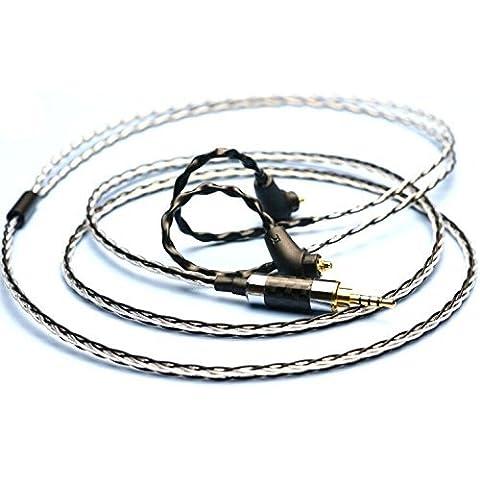 gotor® cavo delle cuffie audio cavo di estensione di aggiornamento Cavo di Per MDR-Z7 XBA-Z5 XBA-A3 XBA-A2 XBA-H3 cuffie (XBA-H3)