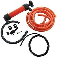 Bomba sifón multiusos, extractor para transferencia de fluidos, para combustible (gasolina, diesel