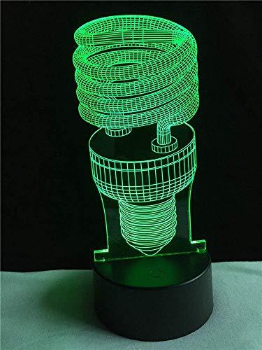 WJPDELP-YEDE Großhandel Diode Miniatur Glühlampen 7 Farben Ändern Rvb Controller Touch Sensor USB Acryl Licht Wohnkultur Kinder Spielzeug