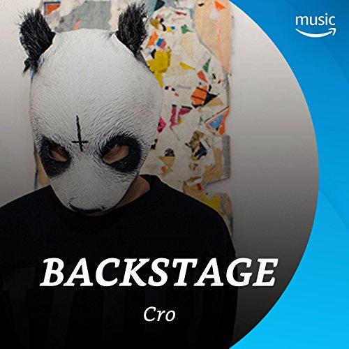 Backstage mit Cro