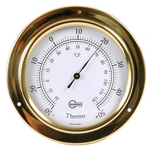 Barigo Termometro Tempo ottone