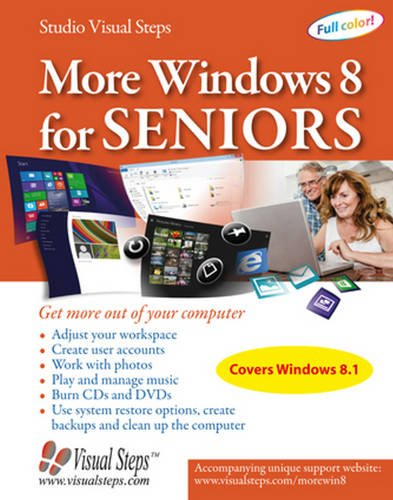 More Windows 8 for Seniors: Get More Out of Your Computer (Visual Steps) por Studio Visual Steps