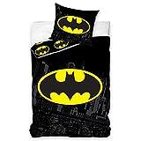 Batman-Logo Baumwolle Einzel Bezug und Kissensatz