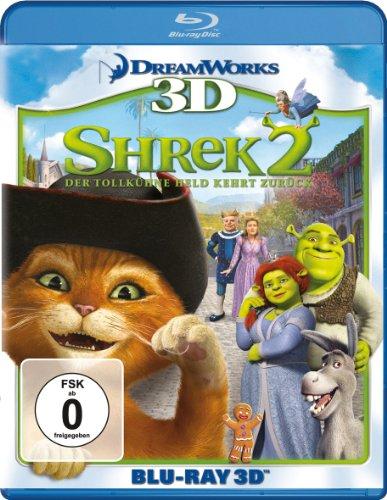 Shrek 2 - Der tollkühne Held kehrt zurück [3D Blu-ray]