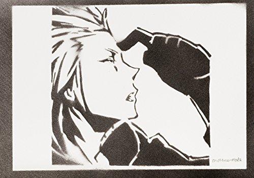 Axel Kingdom Hearts Handmade Sreet Art - Artwork - (Kostüm Cosplay Riku Hearts Kingdom 2)