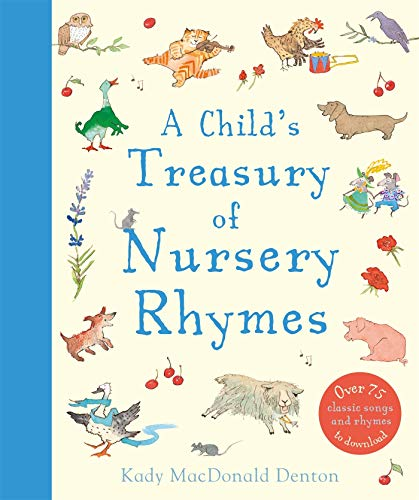 Child's Treasury Of Nursery Rhymes (Baby Lullaby Buch)