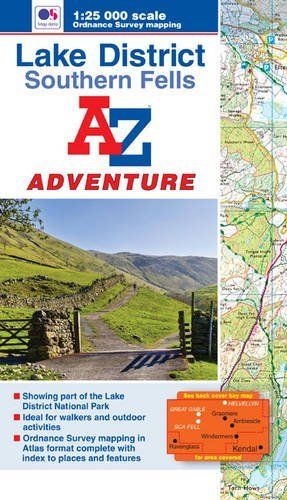 Lake District (Southern Fells) Adventure Atlas (A-Z Adventure Atlas) by Geographers' A-Z Map Company (2015-08-26)