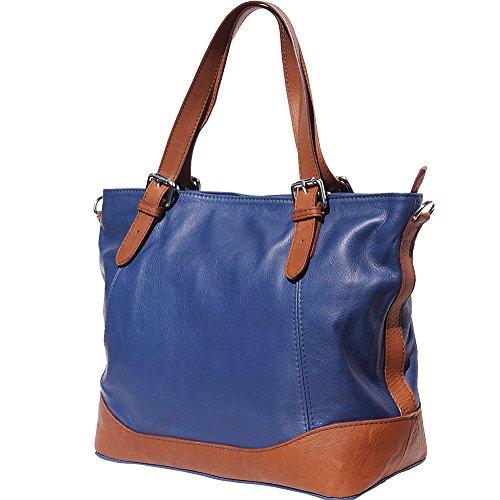 braun 6140 blau Tote Handtasche Marine wxI7R4Wvq