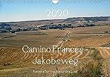 Camino Frances - JakobswegAT-Version (Wandkalender 2020 DIN A4 quer): Unterwegs am Jakobsweg von St. Jean-Pied-de-Port nach Santiago de Compostela (Monatskalender, 14 Seiten ) (CALVENDO Orte) -