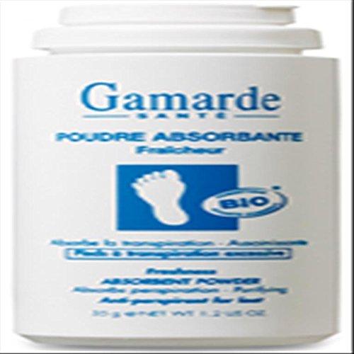 Gamarde Poudre absorbante fraicheur pieds 35g