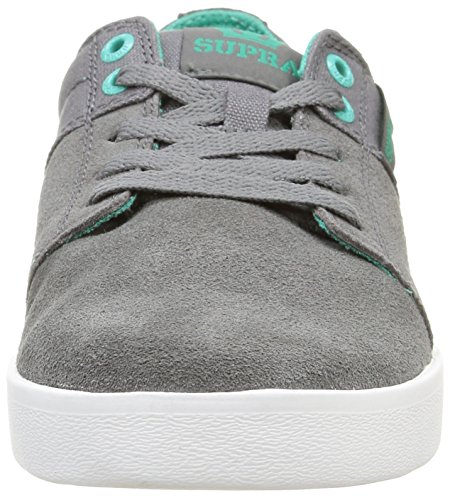 Baskets Ii Charcoalatlantis Basses Supra Mixte Stacks Adulte Gris AqwEUf