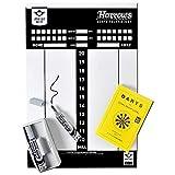 Speelgoed 060480 - Darts und Zubehör Dart Scorebord Whiteboard, Mehrfarbig