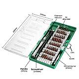 Magnetische Schraubendreher Set, MECO 60-in-1 mit 56 magnetischen Schraubendrehersatz Driver Kit, Präzisions Schraubenzieher Set, Reparaturset Tool für Elektronik/ XBOX/Smartphone/Tablet/PC/MacBook Gruen