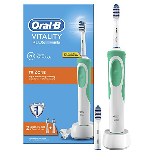 Price comparison product image Oral B Vitality Trizone Electric Toothbrush + 2 Brushing Heads