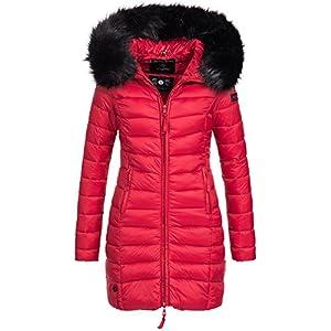 Marikoo-ROSE-110-Damen-Mantel-Jacke-Steppjacke-Winterjacke-lang-gesteppt-bergang-XS-XXL