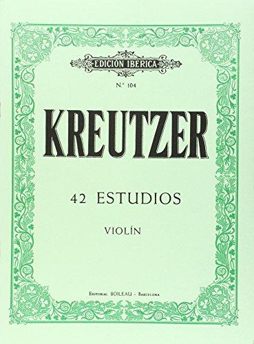 42 Estudios Violín