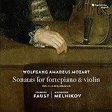 Mozart: Sonaten für Hammerklavier & Violine (Vol.1)