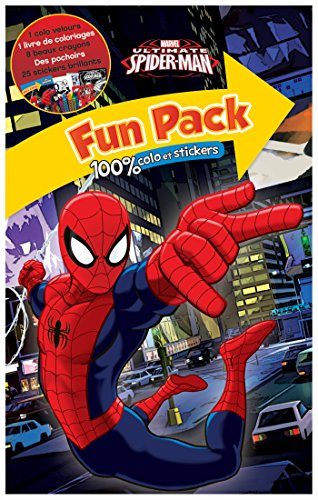 Fun pack Ultimate Spiderman : 100% colo stickers