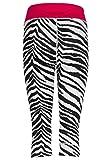 TAO Sportswear, W 'S Knicker Mallas, Transpirable 3/4Pantalones de Unidad Mujer con...
