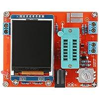 KKmoon Multifunzione LCD GM328 Transistor Tester diodo di capacità ESR Tensione Misuratore di frequenza PWM onda quadra Signal Generator