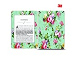 Elton 3M Vinyl Skin Decal Sticker Protective for Kindle Paperwhite eBook Reader Wrap Cover Skin - Vintage Floral Patterns