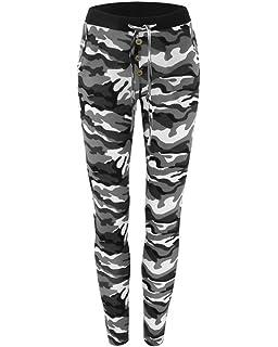 Guiran Femme Pantalon Camouflage Fitness Jogging Yoga Running Sarouel Baggy  Pantalons Stretch b44d553df66