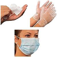 Holthaus Medical Pandemie-Vorsorgeset Hygiene-Set Infektionsschutz-Set, Maske Handschuhe Tücher, 6-teilig preisvergleich bei billige-tabletten.eu