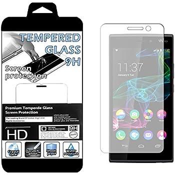 Film VERRE TREMPE 9H pour Wiko Ridge Fab 4G Ultra Transparent Ultra Résistant INRAYABLE INVISIBLE