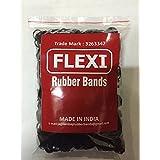 Flexi Rubber Bands Black - 1/2 inch Diameter - 1700 pcs