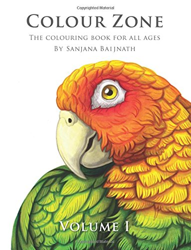 Colour Zone Volume 1: The colouring book for all ages