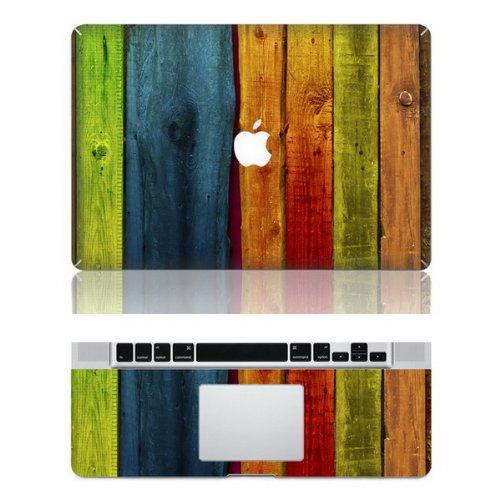 "Preisvergleich Produktbild decalshut Holz Muster Aufkleber Abnehmbare Schützende Haut Aufkleber für Apple Macbook Aufkleber, wood 1, MacBook Pro Retina 13.3"" inch (A1425/A1502)"