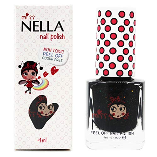 Miss Nella SURPRISE PARTY- Special Glitter Black Nail