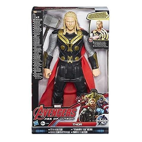 Hasbro B1496ES0 - Avengers Elektronische Titan Hero Figur Thor