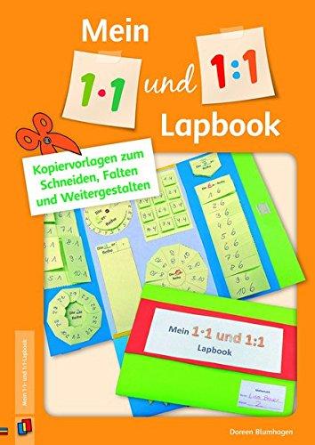Mein 1x1- und 1:1-Lapbook: Vorlagen zum Schneiden, Falten und Weitergestalten