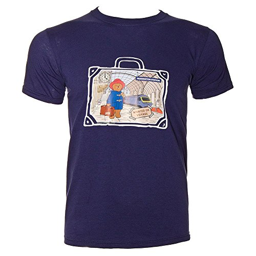 T Shirt Paddington Bear Station (Blu) - XX-Large