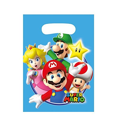 r Mario, 8 Stück (Super Mario Halloween)