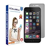 CELLBELL Privacy Tempered Glass Screen Protector for iPhone 6